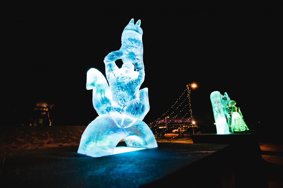 Ice Sculpture festival 2017